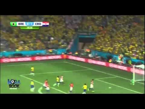 Neymar Goal Brazil vs Croatia 1-1 FIFA World Cup – YouTube