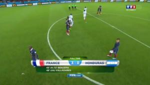 Victoire de la France à la coupe du monde de football au brésil contre le Honduras
