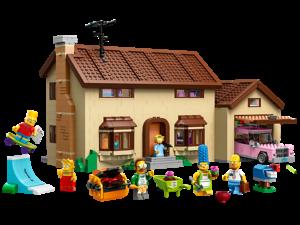 Lego la maison des simpsons