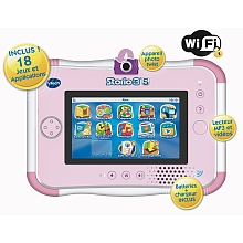 Console Storio 3S rose + Power pack – VTech