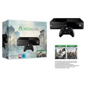 XBOX ONE Assassin's Creed Unity + Assassin's Creed Black Flag idée cadeau garçon