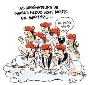 Breaking 3.0 sur Twitter : «Dessin de @tsoulcie pour Télérama #JeSuisCharlie http://t.co/ujlVKql92S»