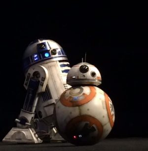 BB8 le nom du robot en forme de boule de star wars 7 the force awakens