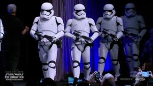 Les nouveaux stormtroopers de star wars 7