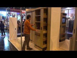 Hic & Ubiq : une armoire qui tourne et se transforme selon vos besoins – YouTube