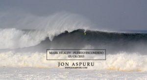 Mark Healey surf la plus grosse vague du monde sur un paddle – Puerto Escondido 2015 on Vimeo