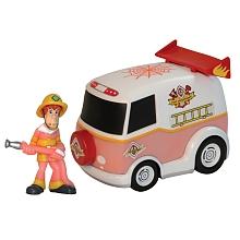 Giochi Preizosi - Véhicule Scooby-Doo + figurine - véhicule de pompiers Blister de 1 Figurine avec un véhicule de la gamme Scooby-Doo. Revis les aventures des tes héros.