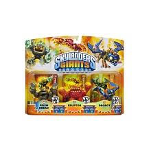 toys' r us Skylanders Giants - Triple Pack Figurine lumineuse (Prism Break / Eruptor / Drobot)