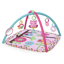 toys' r us Bright Starts - Tapis d'éveil Safari - 5 en 1 - Rose