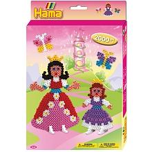 """Hama - Midi Boîte petit modèle """"les princesses Midi Boîte petit modèle """"les princesses"""