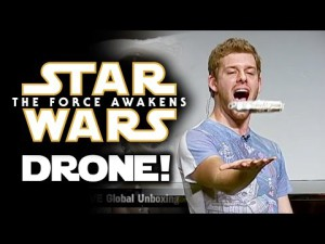 Falcon Millennium Drone d' Air Hogs! Force Friday! Star Wars Episode 7: Force Awakens News – YouTube