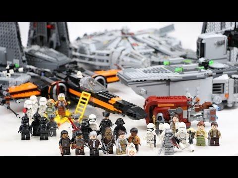 De The Vague Le Force 1ère Star Awakens Wars Réveil Lego La ONny80vmw