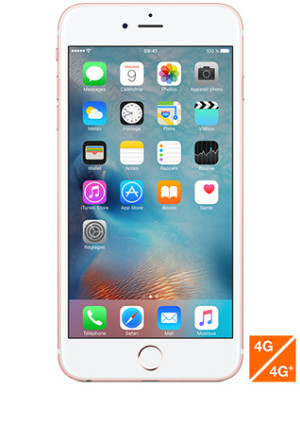 Apple iPhone 6s Plus Or rose 16Go pas cher orange