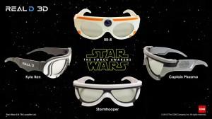 Star Wars 7: des lunettes 3D en édition spéciale pour Le Réveil de la Force ! Stormtrooper bb-8