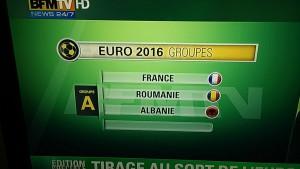 Tirage au sort de l'Euro 2016 : France