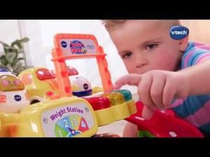 MAXI GARAGE ÉDUCATIF (TUT TUT BOLIDES) de VTech – YouTube