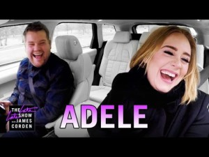 Adele Carpool Karaoke au James corden show – YouTube
