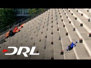 Drone Racing League: course dans un stade : UmmaGawd vs Mr. Steele | DRL – YouTube