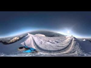 Mont Blanc vidéo 360 ° derniers mètre de la plus haute montagne de france – YouTube
