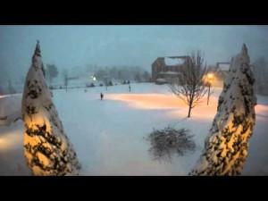 Snowzilla TimeLapse 48h gopro – Urbana, Maryland – YouTube
