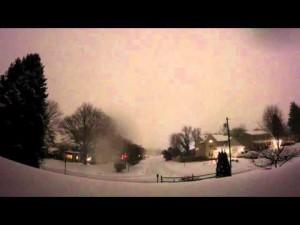 SNOWZILLA 2016 Timelapse vidéo – YouTube