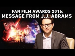 Star Wars Fan Film Awards 2016: annoncé par J.J. Abrams – YouTube