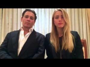 Johnny Depp et Amber Heard piratent la biosecurité australienne- YouTube