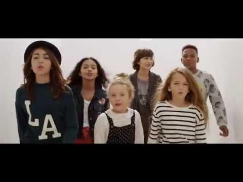 KIDS UNITED – On Ecrit Sur Les Murs (Clip Officiel) – YouTube