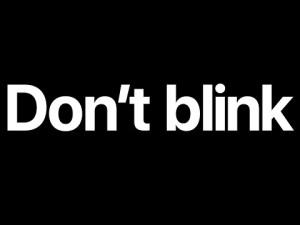 Apple – Don't Blink – YouTube  Nouvel iphone 7, nouveau earpod, nouvelle montre connecté swatch 2 étanche, voilà la keynote résumé en 107 secondes où vous ne devez pas cligner des yeux