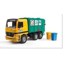 toys' r us Bruder - Camion Mercedes plastique - camion poubelle