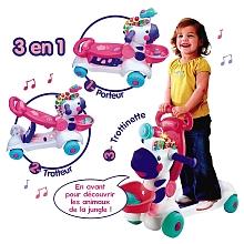 toys' r us VTech - Trottino Mon zèbre rigolo rose - Seulement chez Toysrus !