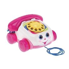 toys' r us Fisher Price - Téléphone rose - Seulement chez Toysrus !