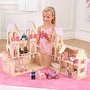 Notre Château de Princesse va plaire aux petites filles. C'est tellement amusant de prétendre de grimper sur le pont