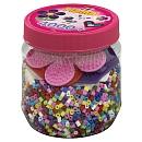 Midi Pot 4000 perles + plaques couleurs Activités manuelles et loisirs créatifs / Mosaïque / Mosaïque