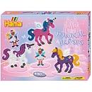 """Midi Boîte grand modèle """"chevaux magiques Activités manuelles et loisirs créatifs / Mosaïque / Perles Hama"""