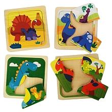 toys' r us Universe of Imagination - Puzzle Dinosaures 3 pièces