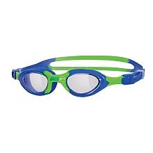 toys' r us Zoggs - Lunettes De Natation - Little Super Seal - Bleu & Vert