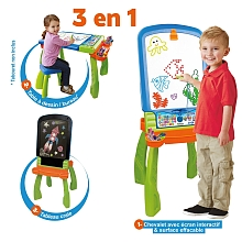 toys' r us Vtech - Magi-chevalet interactif 3 en 1
