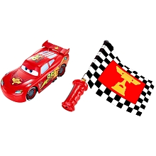 toys' r us Voiture radiocommandée Flash Mac Queen drapeau super action