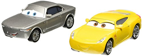 Mattel--Cars-3--Cruz-Ramirez-Sterling--1-Pack-de-2-Vhicules-Miniatures-Die-Cast-0