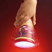 Room-Studio-864955-Lampe-torcheveilleuse-2-en-1-Plastique-Rouge-Cars-0-2