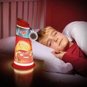 Room-Studio-864955-Lampe-torcheveilleuse-2-en-1-Plastique-Rouge-Cars-0-5