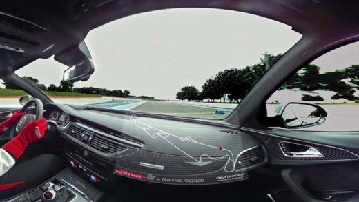 Embarquez pour un tour de circuit en Audi RS6 en 360° – Belles Allemandes