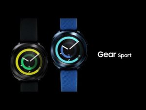 Samsung Gear Sport: lancement officiel – $349- YouTube