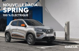 Dacia Spring confort et confort plus la voiture électrique citadine