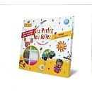Contient 17 couleurs de perles + 1 grande plaque ronde + 2 grandes plaques carrées + 1 grande plaque étoile + 4 supports modèles réalisés + feuille de modèles en couleur + instructions + papier à repasserLes perles à repasser permettent de créer des sujets