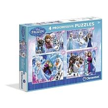toys' r us 4 puzzles La Reine des Neiges