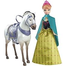 toys' r us Anna Fête givrée et son  Cheval royal