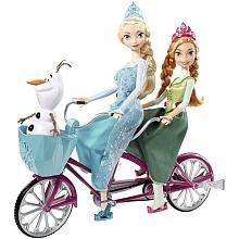 toys' r us Anna et Elsa à vélo - La Reine des Neige