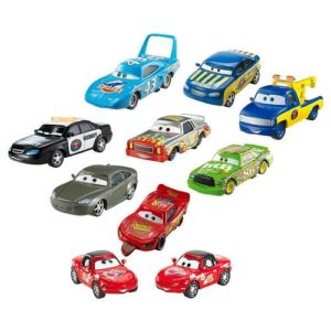 Disney-Pixar-Cars-Movie-Disney-Pixar-Cars-Radiator-Springs-10-Car-Gift-Pack-Set-3-Way-Tie-155-Scale-Mattel-Featuring-Finish-Line-Mcqueen-Chick-Hicks-The-King-Red-Mia-Tia-Race-Official-Tom-Tow-Truck-Da-0